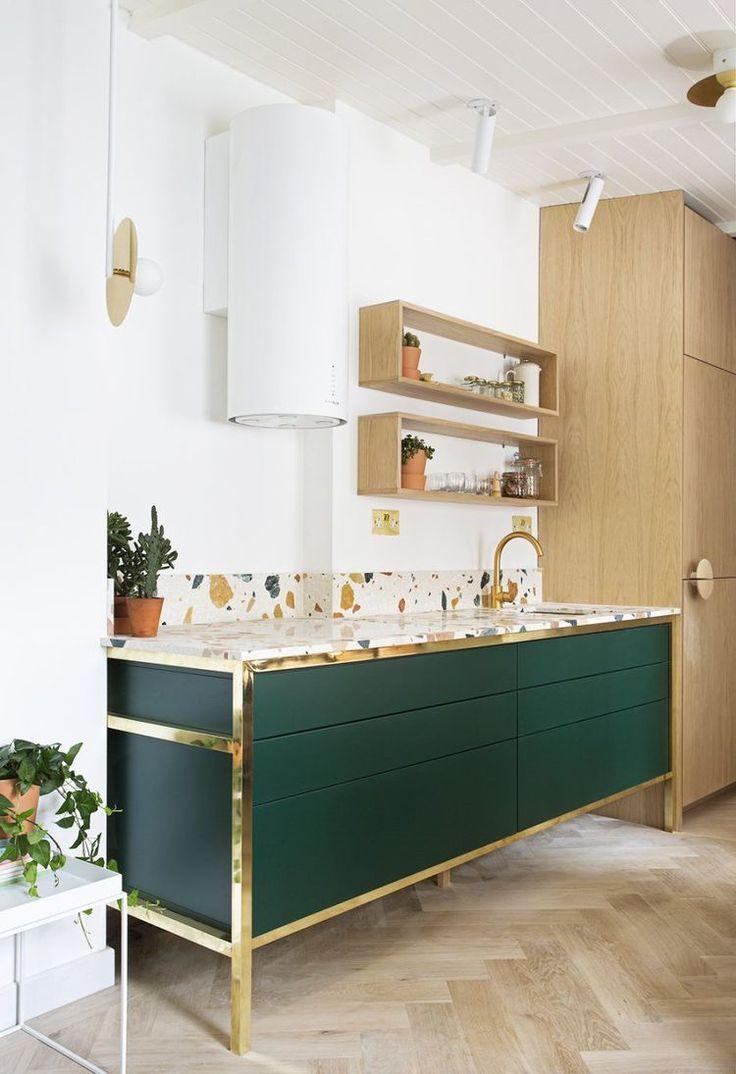 Cocinas-verdes-oscuras-y-texturas-ultima-tendencia-deco-2018-lokoloko
