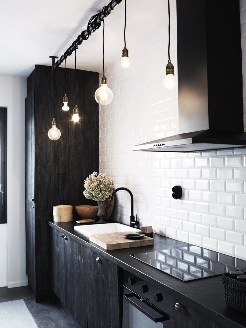 35 Ideas Con Cocinas Oscuras La Ultima Tendencia En Decoracion