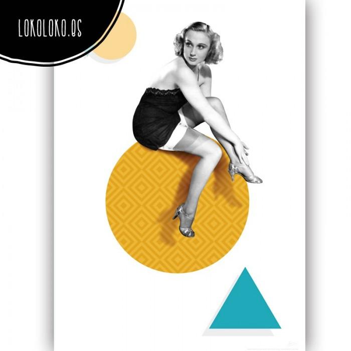 poster-mujer-belleza-retro-moderno-decoracion