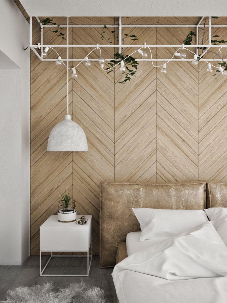 Dormitorio-com-pared-de-punta-de-hungria