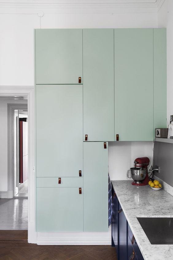 armario-de-cocina-de-color-menta
