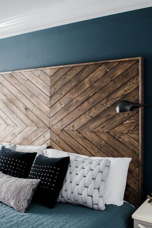 cabecero-madera-chevron-geometrica-decoracion
