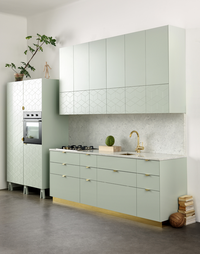 Green kitchen super front