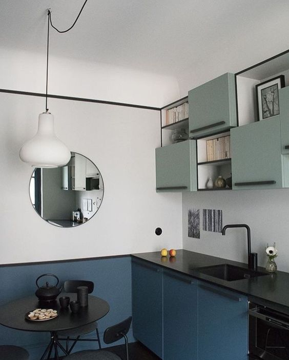 muebles-de-cocina-color-menta
