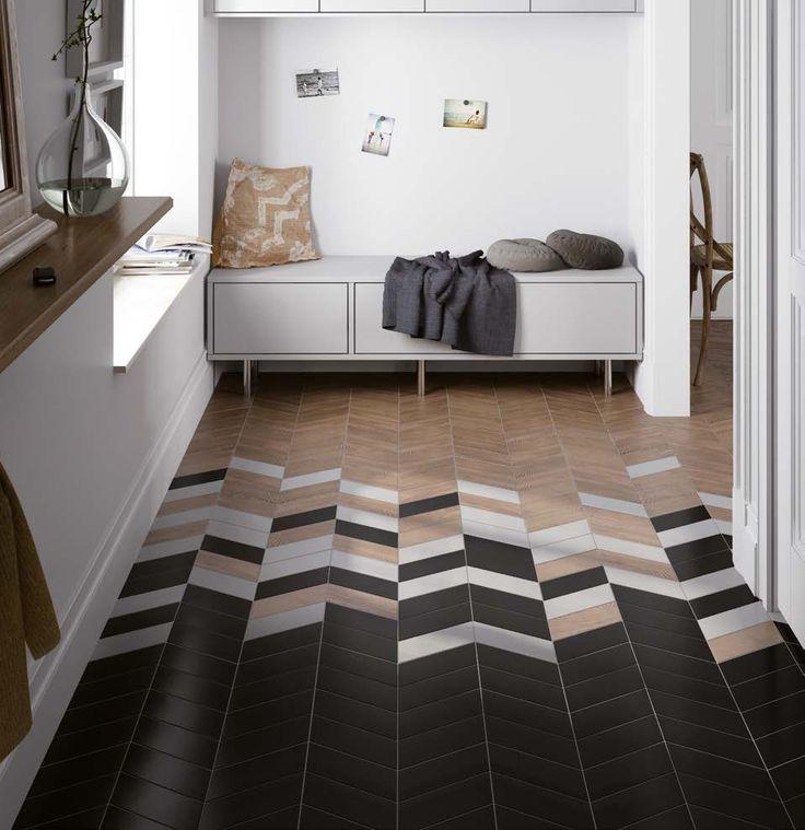 suelo-chevron-madera-y-negro-decoracion