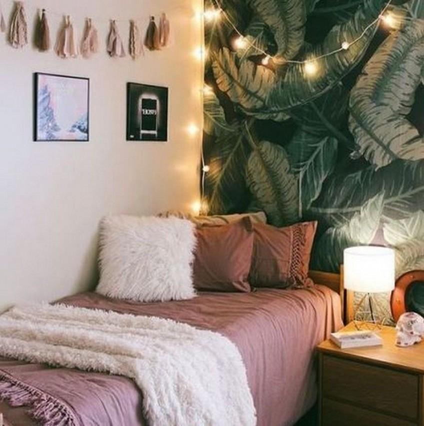 pared-de-dormitorio-decorada-estilo-jungalow-o-jungla