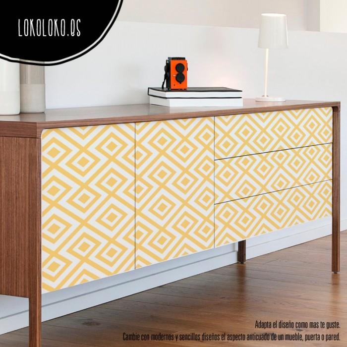vinilos-para-muebles-patrones-geometrico