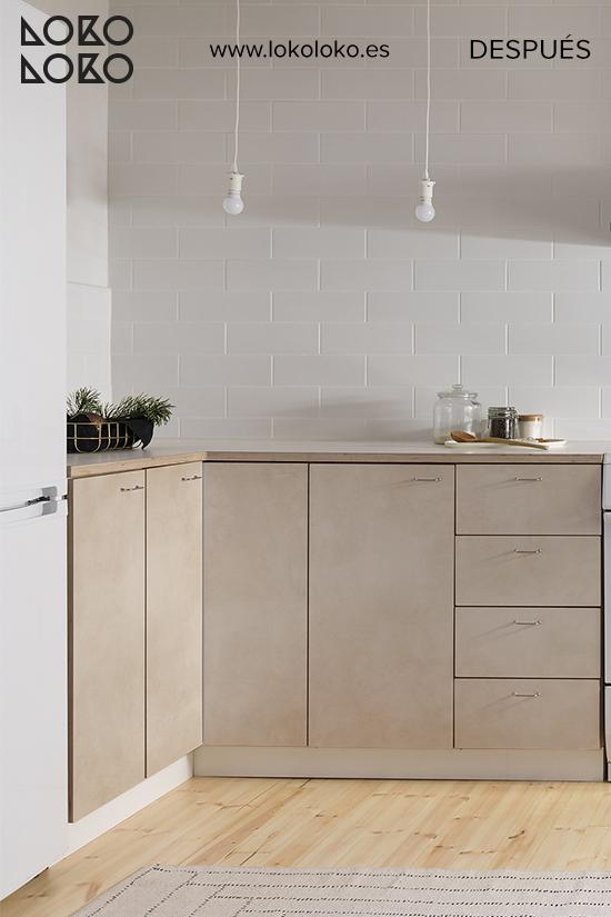 despues-apartamento-vinilo-para-muebles-de-cocina-hormigon-color-tierra-lokoloko-design