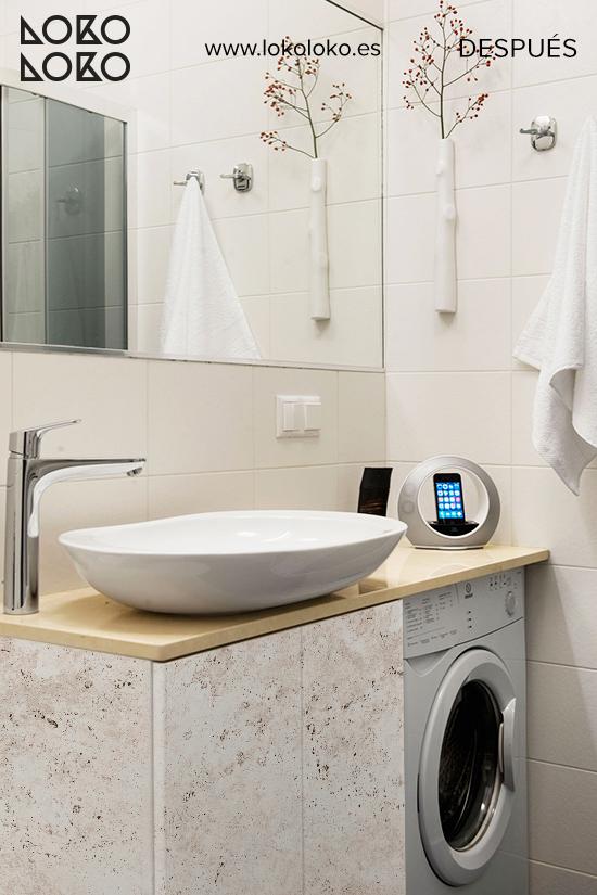 mueble-cuarto-de-bano-apartamento-forrado-con-vinilo-textura-piedra-calida-lokoloko