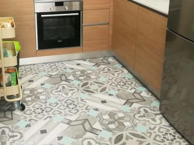 Recopilación de vuestros vinilos lokoloko en suelos de cocina