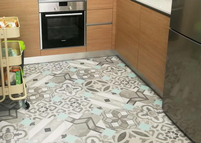 Recopilaci n de vuestros vinilos lokoloko en suelos de cocina for Suelos vinilicos para cocina