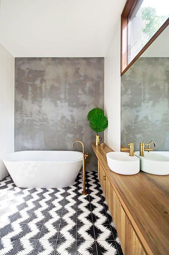 pared-de-bano-con-textura-cemento