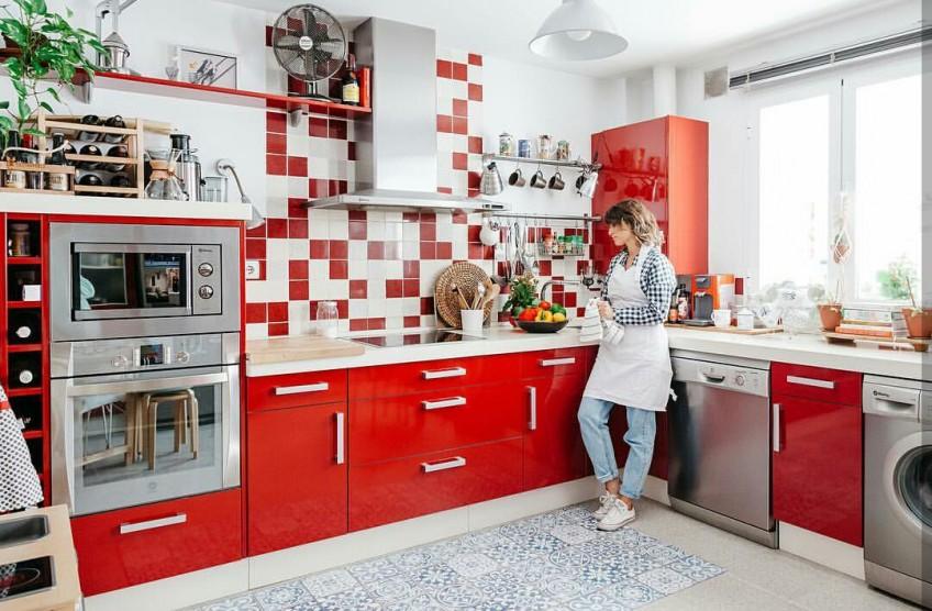 Diferentes tipos de losas baldosas y azulejos donde for Azulejos y suelos para cocinas