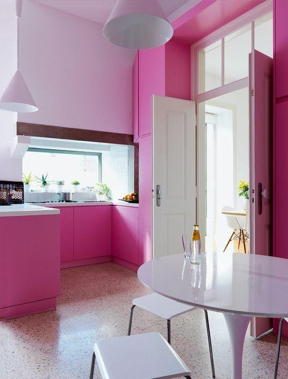 cocina-rosa-monocromo-tendencia