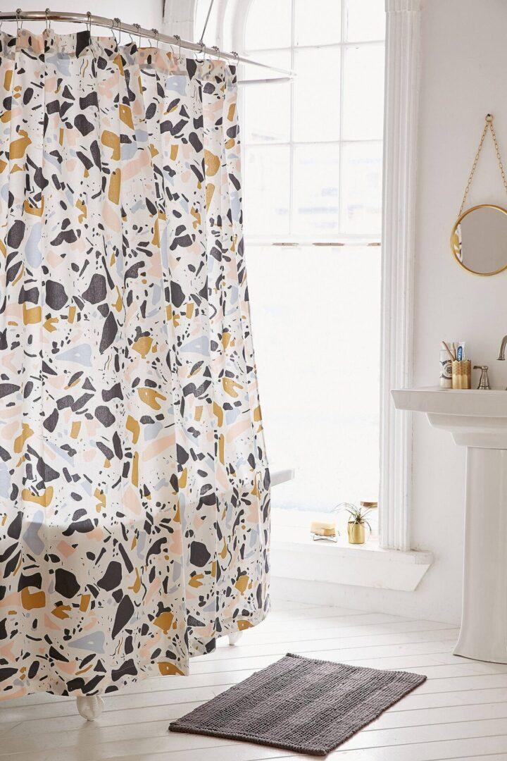 cortina-de-ducha-de-textura-terrazo-actual