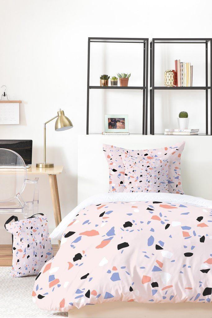 ropa-de-cama-de-textura-terrazo