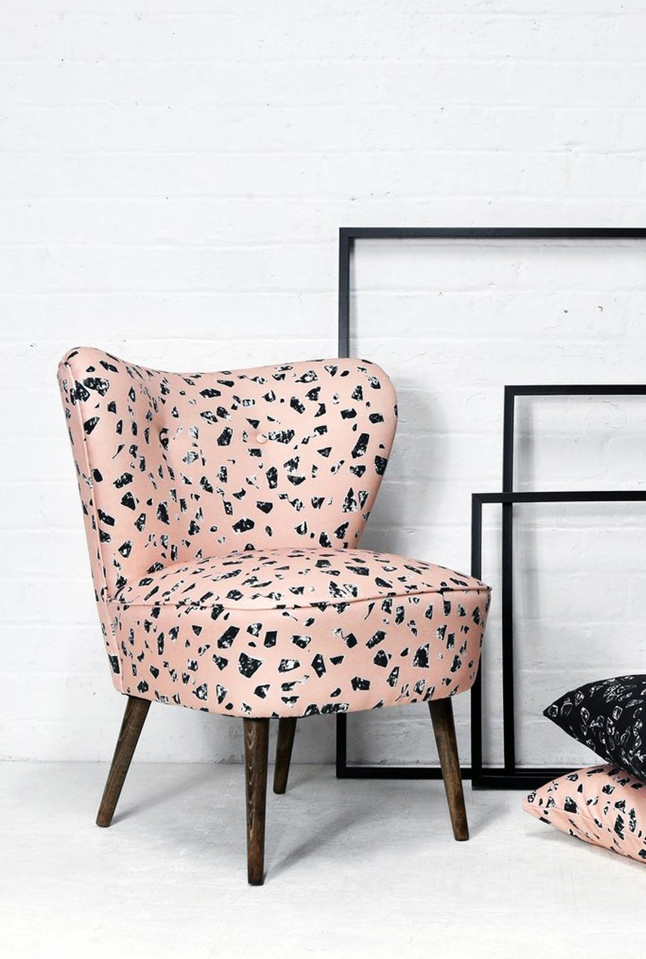 sillon-de-terrazo-rosa-tendencia-actual