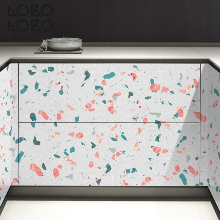 vinilo-lavable-para-forrar-frentes-de-cocina-textura-terrazo-mediterraneo-lokoloko