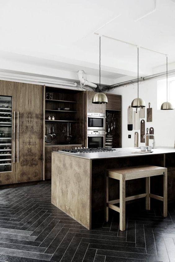 cocinas-con-maderas-medias-u-oscuras-decoracion-de-interiores