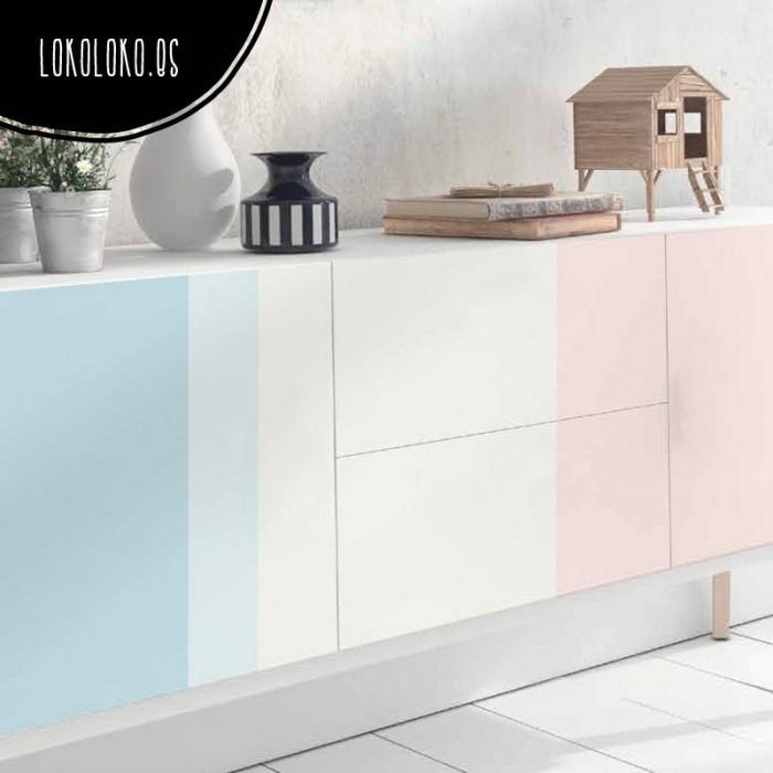 vinilo-color-block-decoracion-tonos-pastel-tendencia