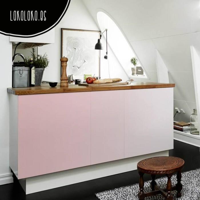 vinilo-muebles-cocina-salon-color-rosa-cerezo