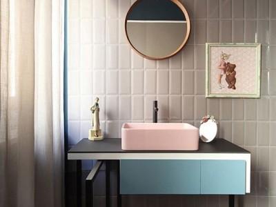 Tendencias 2019: losas y azulejos en baños y cocinas, cambian de forma y color