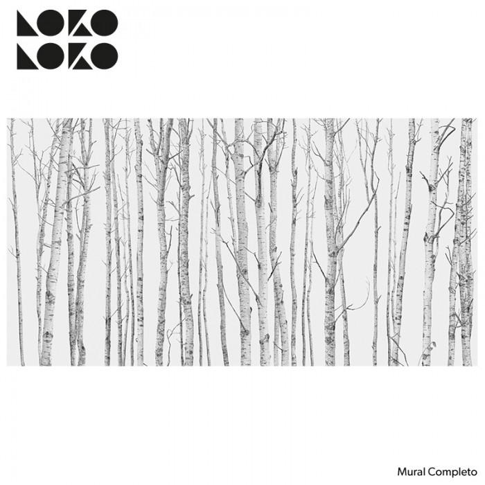 Mural-completo-el-bosque-papel-de-pared-adhesivo-de-arboles-nordicos-lokoloko