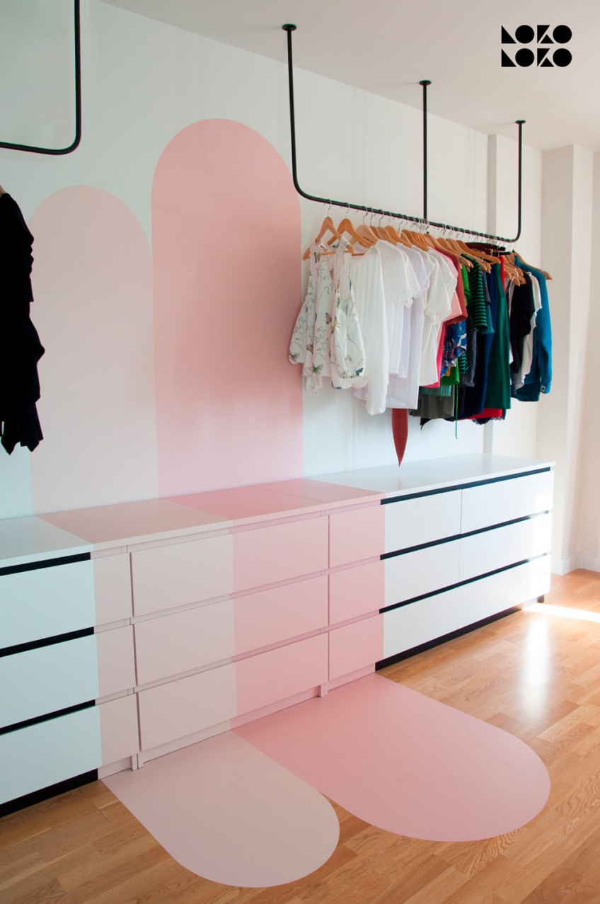 Modifica-con-vinilos-autoadhesivos-y-lavables-de-colores-lisos-rosas-comodas-malm-ikea-hacks-lokoloko