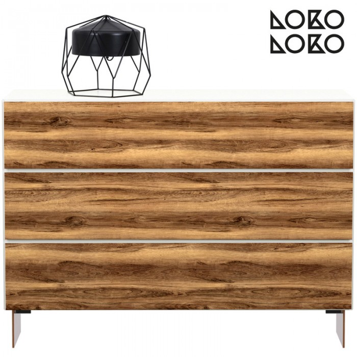madera-nogal-natural-muebles-salon-comedor