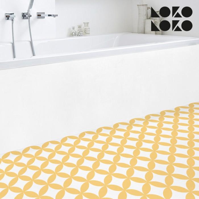 mosaico-de-circulos-amarillos