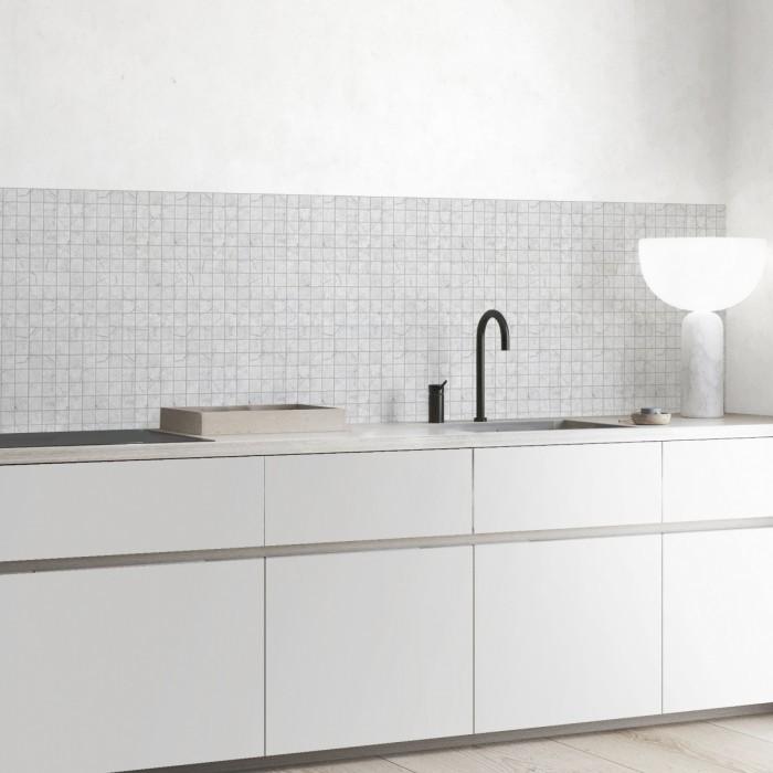 vinilo-lavable-mosaico-marmol-gris-medio-pequeno-para-decoracion-japandi-lokoloko