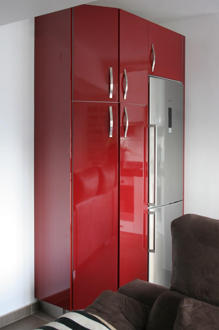 Antes-puertas-armario-de-cocina-rojo