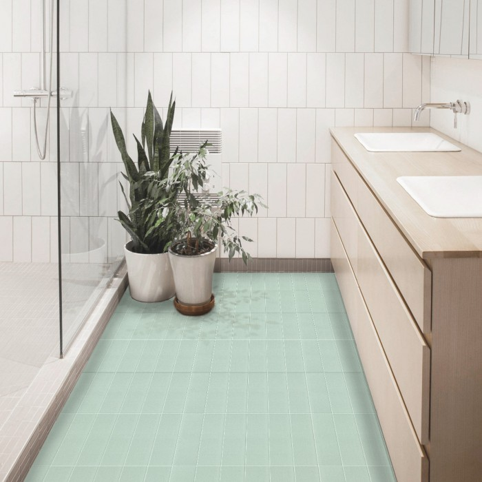 azulejos-verticales-verde-menta-junta-blanca