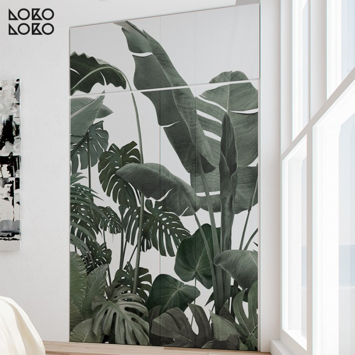 jardin-botanico-verdes-gris-palmeras-plataneras-monsteras-autoadhesivo-lavable-pared-cocina-bano