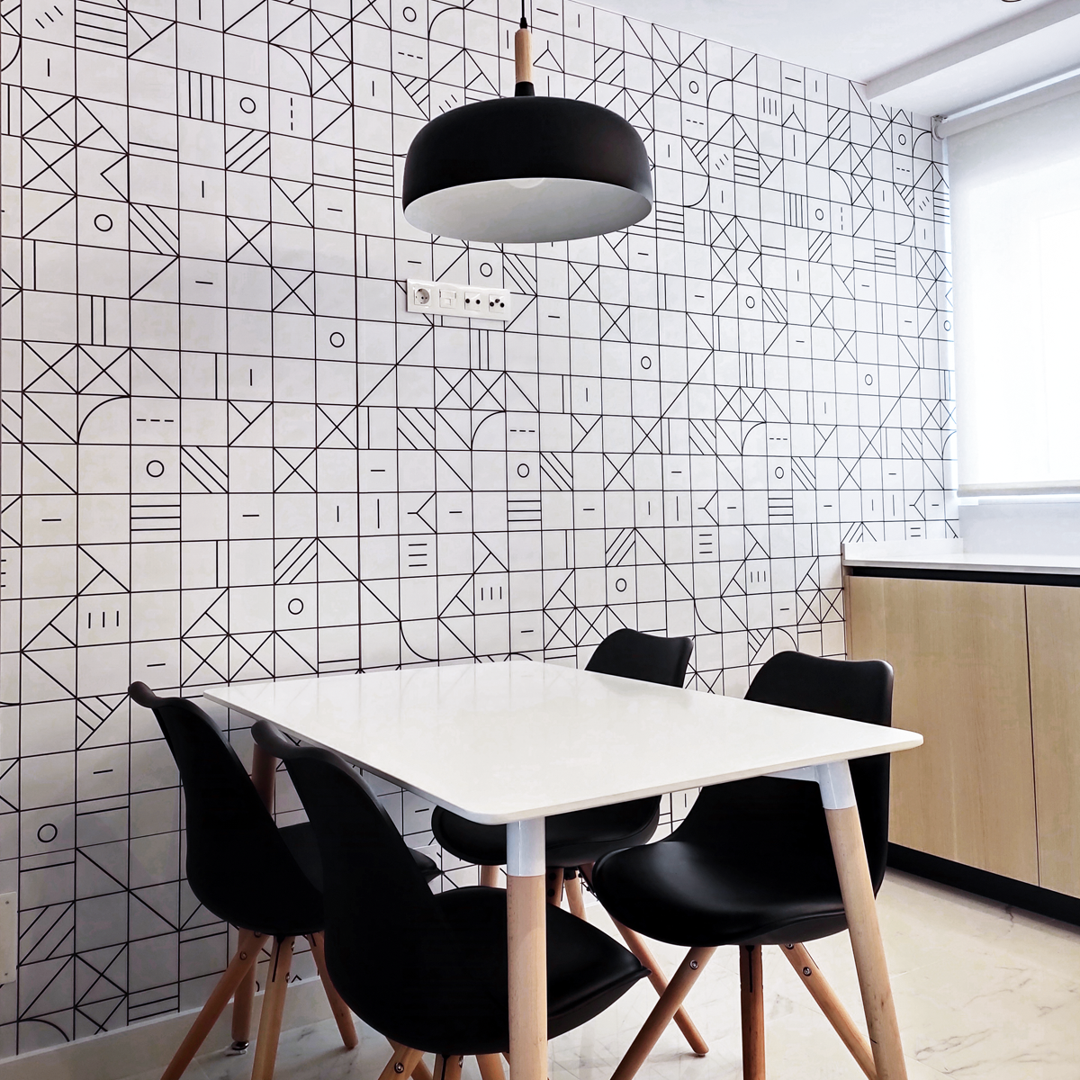 2020-PAR-55-Azulejos-geometría-bauhaus-negro-vinilo-lavable-autoadhesivo-para-paredes-cocinas-azulejos-frentes-copetes-lokoloko