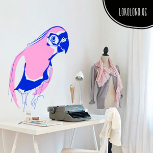 Decora tu estudio con un vinilo decorativo de animal exótico