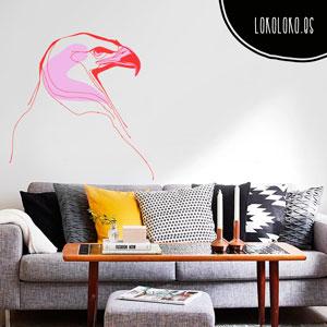 Decora la pared de tu sofá con vinilo decorativo de animales