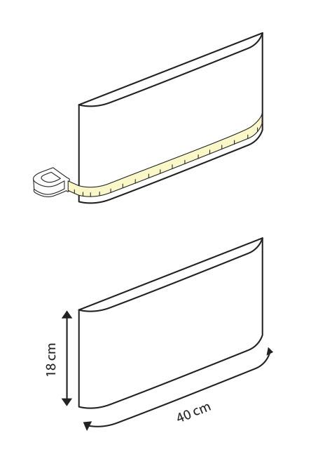 Cómo medir cajones de bordes curvos de manera correcta. Lokoloko vinilos