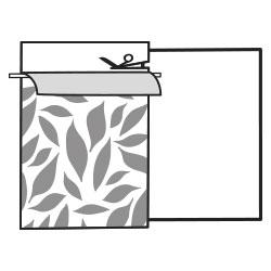 Pegar vinilo en muebles paso a paso. Cortar papel siliconado. Lokoloko