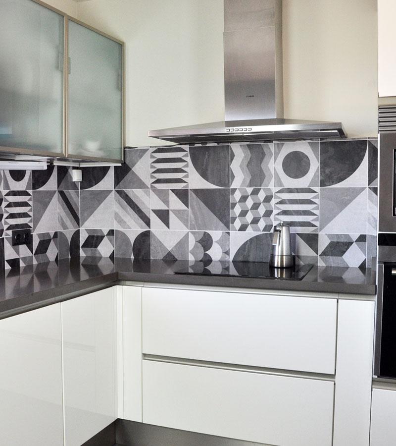 Vinilo adhesivo para pegar en paredes de azulejos de cocinas