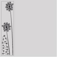 vinilos flores piezas