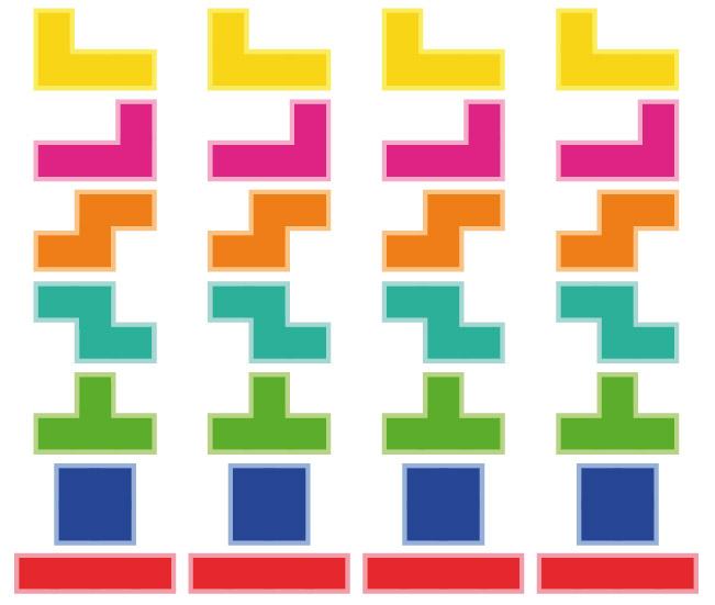 piezas del Tetris